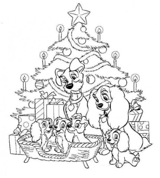 Dibujos Para Colorear Disney Navidad