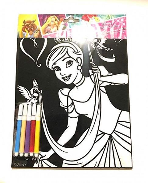 Disney Princess Cinderella Hoja De Terciopelo Para Colorear