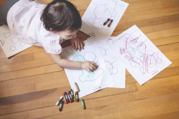 Pinta Y Colorea Con Tous Kids&baby