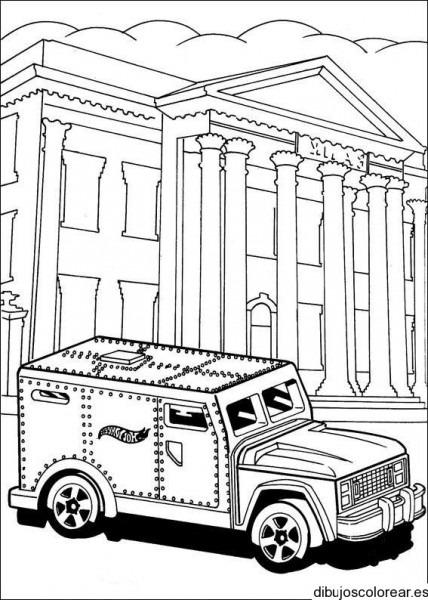Dibujo De Un Coche De Banco