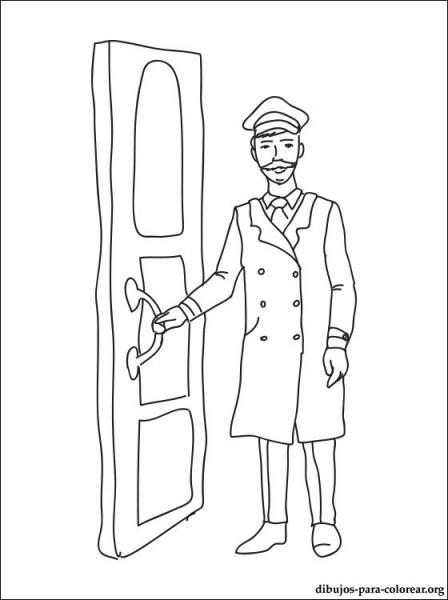 Dibujo De Trabajo De Portero Para Imprimir
