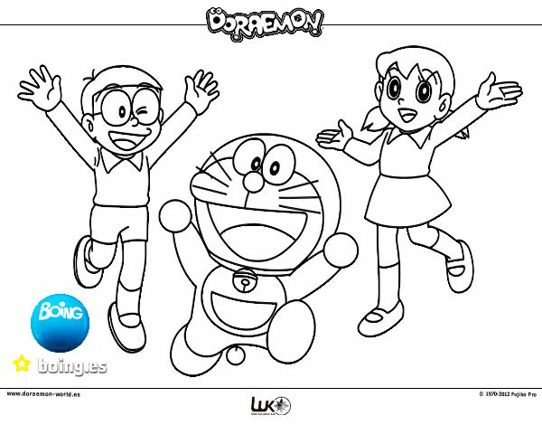 Dibujo De Doraemon Y Amigos Pintado Por En Dibujos Net El Día 04