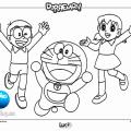 Dibujos Para Colorear De Doraemon