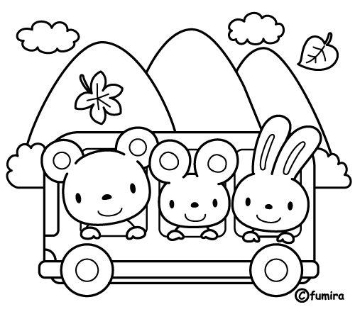 Bus  100 (transporte) – Páginas Para Colorear