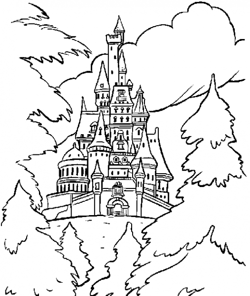 Castillo  118 (edificios Y Arquitectura) – Páginas Para Colorear