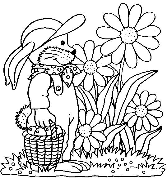 Jardín  25 (naturaleza) – Páginas Para Colorear