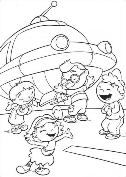 Little Einsteins  14 (dibujos Animados) – Páginas Para Colorear