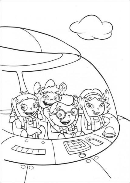 Little Einsteins  9 (dibujos Animados) – Páginas Para Colorear