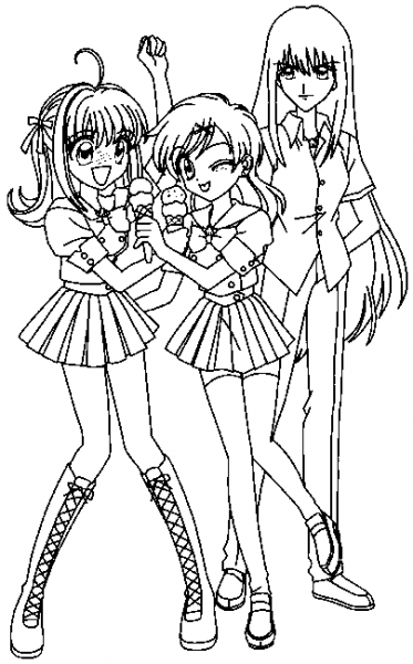 Mermaid Melody  Pichi Pichi Pitch  16 (dibujos Animados) – Páginas