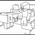 Dibujos Para Imprimir Y Colorear De Minecraft