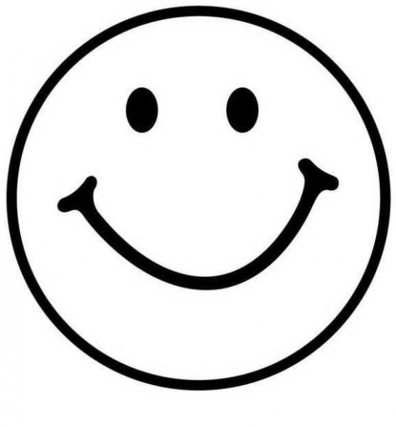 Sonrisa Dibujo Blanca Y Negra