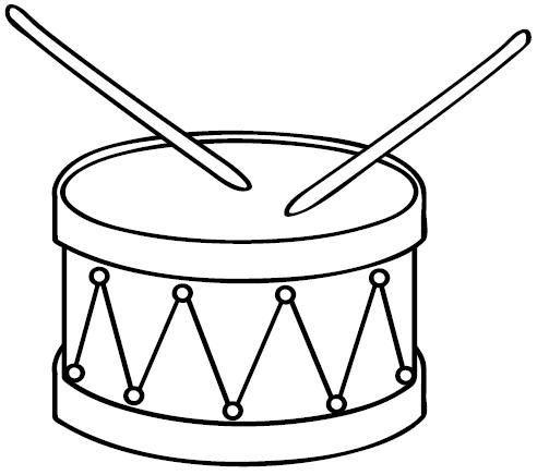 Molde Instrumentos Para Festa Infantil