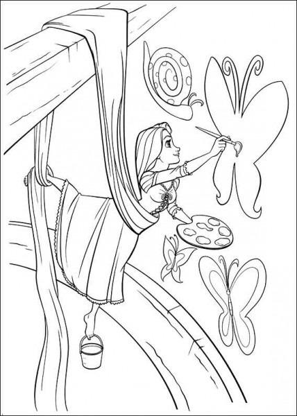 Rapunzel Pinta Murales