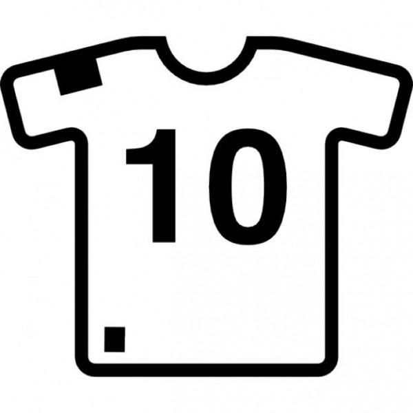 Camisetas De Futbol Para Imprimir Y Colorear
