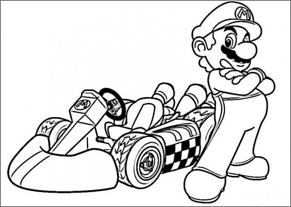 √ Dibujos Para Colorear Mario Bross 21