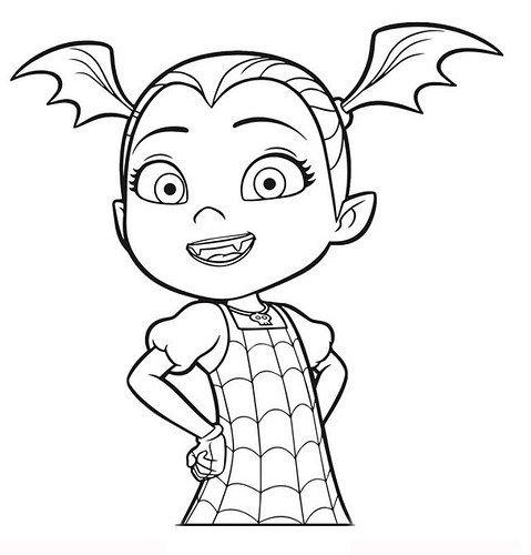 Dibujos E Imágenes De Vampirina Para Imprimir Y Colorear