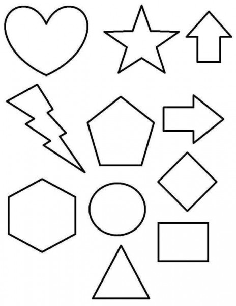 Dibujos Geométricos Para Colorear E Imprimir Gratis (foto)