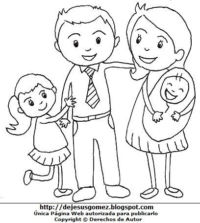 Dibujos Fotos Acrostico Y Mas  Dibujos De Hijos Con Sus Padres