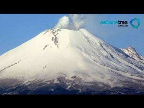 Imágenes Impresionantes Del Popocatépetl   Video Para Estudio Del