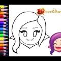 Dibujos Para Colorear De Los Descendientes