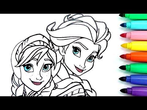 Rotulador MÁgico De Frozen Con Colores Del Arcoiris Y Dibujos