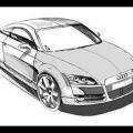 Audi Tt Para Colorear