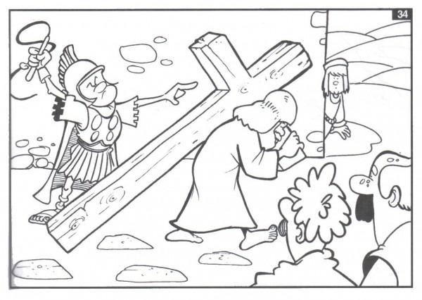 Imágenes De Semana Santa Dibujos Para Colorear