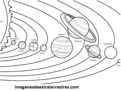 Lindas Imágenes Del Sistema Solar Para Dibujar Y Colorear
