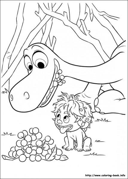 Familia De Dinosaurios Para Colorear