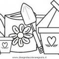 Dibujos Para Colorear Jardin