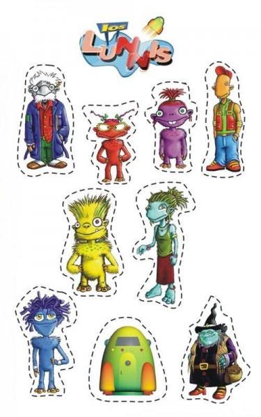 Lunnis  Recortables De Dibujos Animados