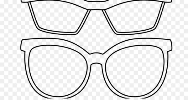 Gafas, Libro Para Colorear, Gafas De Sol Imagen Png
