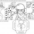 Ladybug Para Colorear E Imprimir