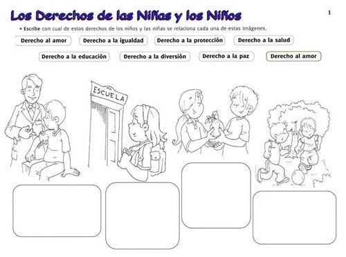 Láminas Sobre Los Derechos Del Niño
