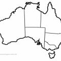 Australia Para Colorear