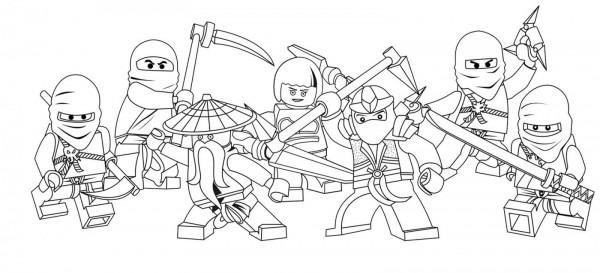 Dibujos De Lego Para Colorear E Imprimir