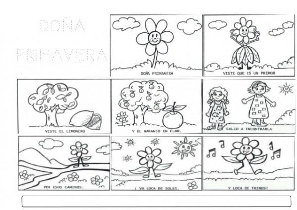 Trabajando En Educación Infantil  10 Poesías De La Primavera Para