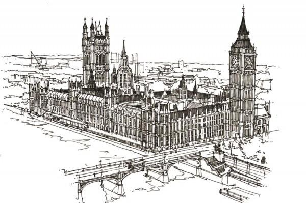 Dibujos Para Colorear Antiestrés Londres