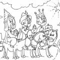 Imagenes Para Colorear De Los Tres Reyes Magos
