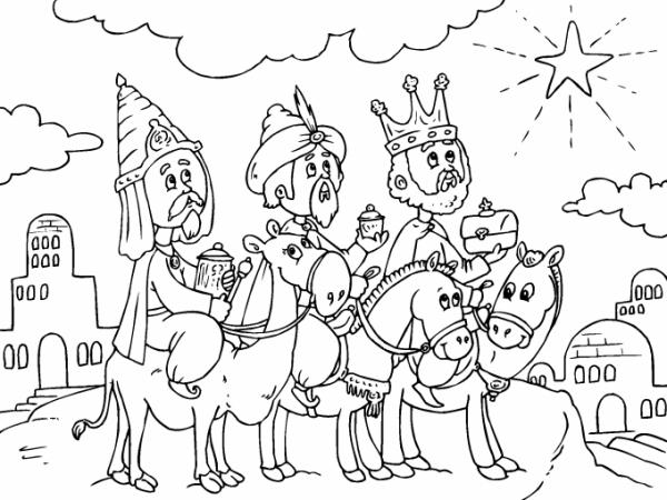 Los Tres Reyes Magos Para Imprimir