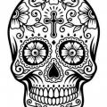 Imagenes Para Colorear De Calaveras Mexicanas