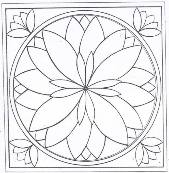 30 Mandalas Geometricas Para Colorear【2019】