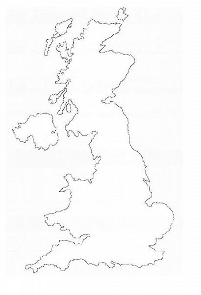 ⊛ Mapa Del Reino Unido 🥇· Político & Físico ▷ Imprimir