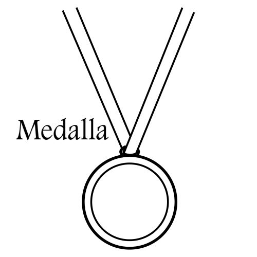 Medallas Para Colorear E Imprimir