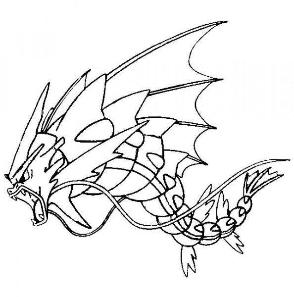 Dibujos Para Colorear Pokémon Megaevolucionados