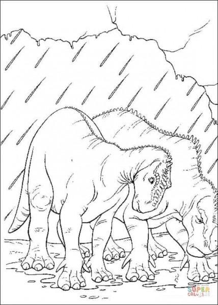 Dibujo De Caida De Un Meteorito Para Colorear