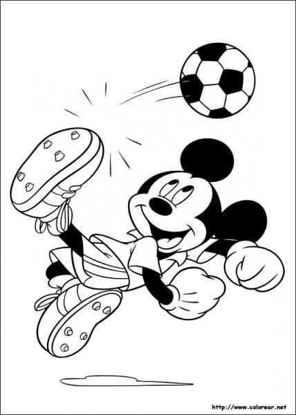 Dibujos De Mickey Para Colorear En Colorear Net