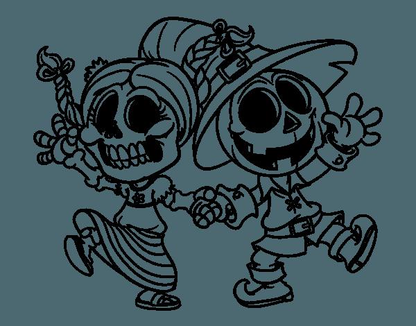 Dibujo De Miércoles Y Jack