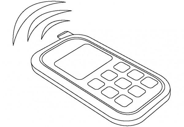 Teléfonos Celulares Para Colorear