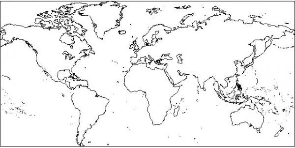 25 Lujo Planisferio Dibujo
